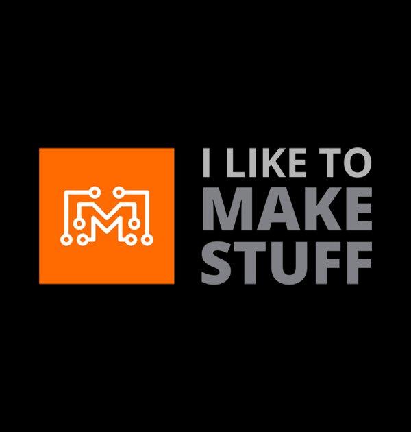 Iltms logo t shirt black i like to make stuff for Logo t shirt maker