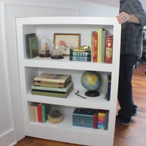 & How to make a secret door/bookcase - I Like to Make Stuff