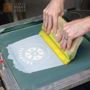 How to screen print your own t-shirts - I Like to Make Stuff