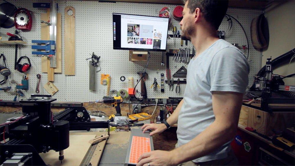how to make computer screen like book