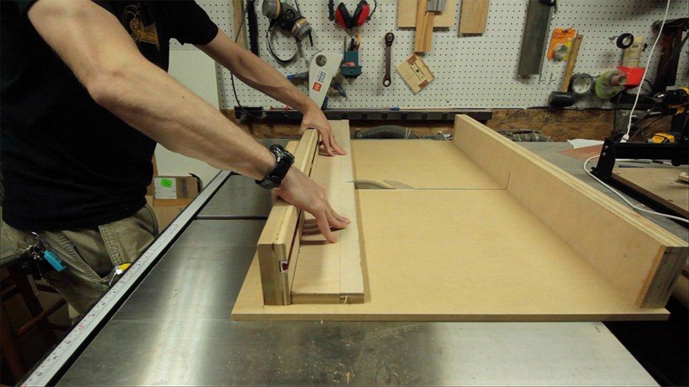 cut plywood strips