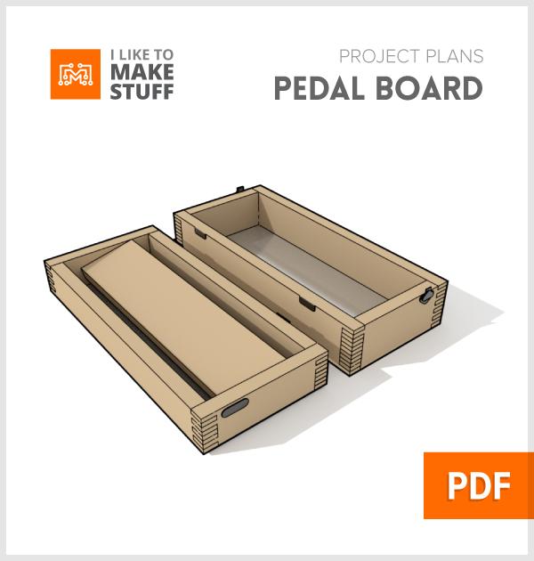 Small Pedalboard Digital Plan I Like To Make Stuff