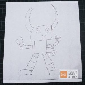 How to Turn a Drawing into a 3d Printed Toy